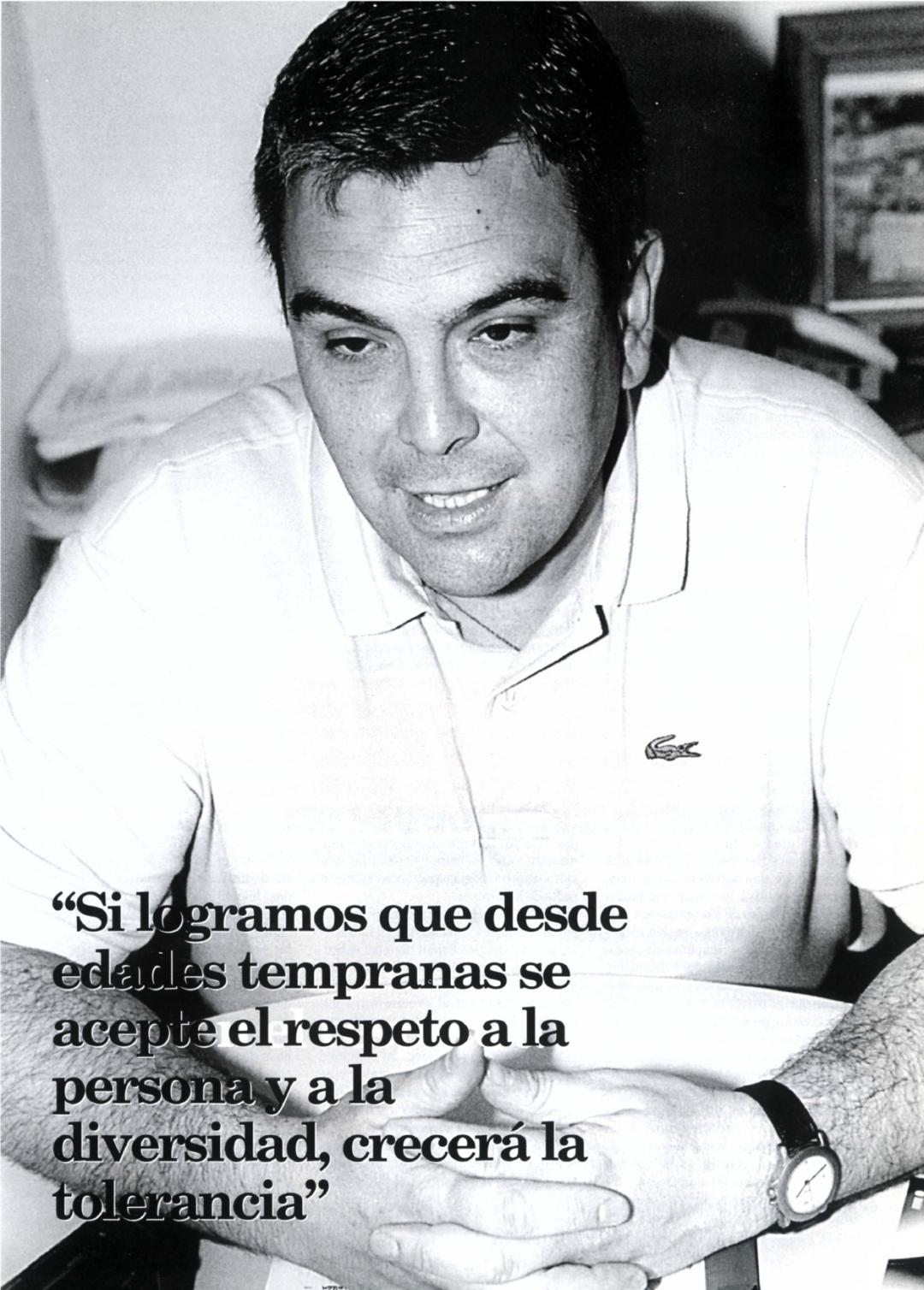 Esteban Ibarra, presidente de Movimiento contra la Intolerancia